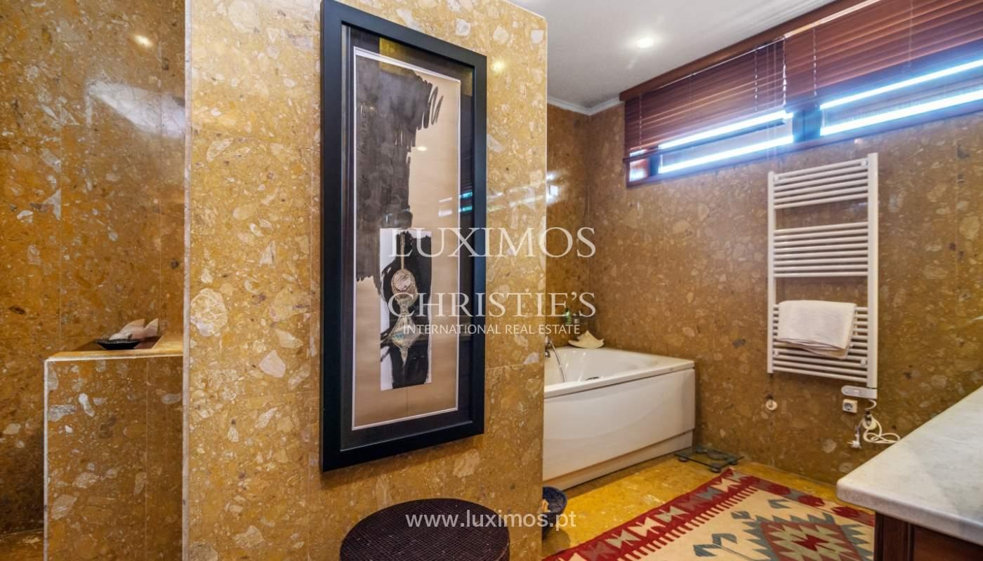 Luxury villa for sale with pool, terrace and garden, Paços de Ferreira, Portugal_107298