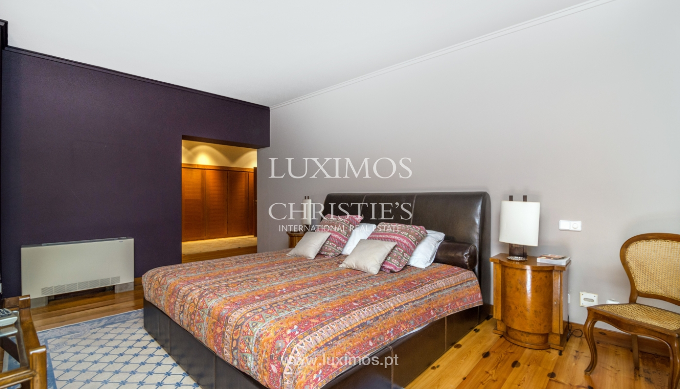Luxury villa for sale with pool, terrace and garden, Paços de Ferreira, Portugal_107300