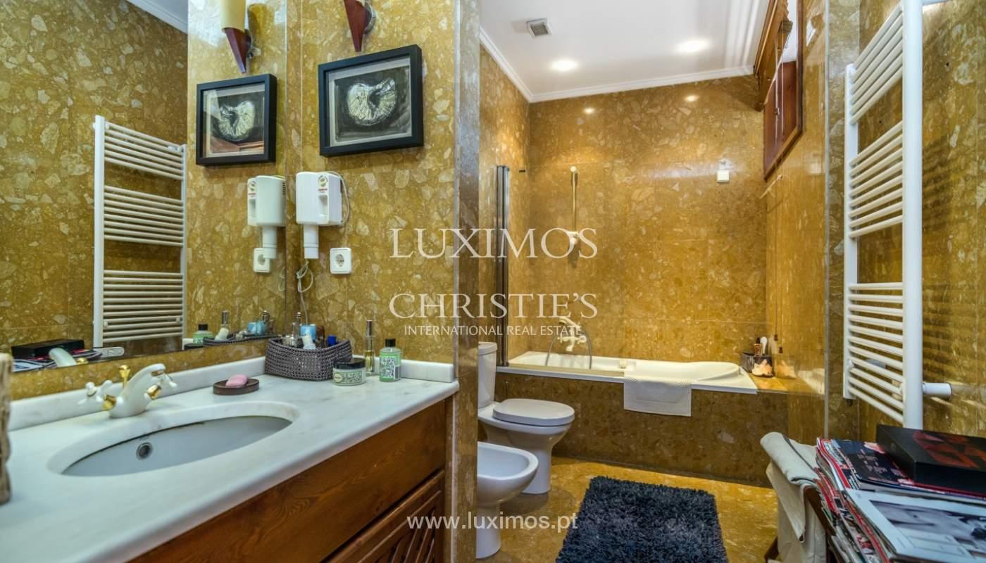 Luxury villa for sale with pool, terrace and garden, Paços de Ferreira, Portugal_107303