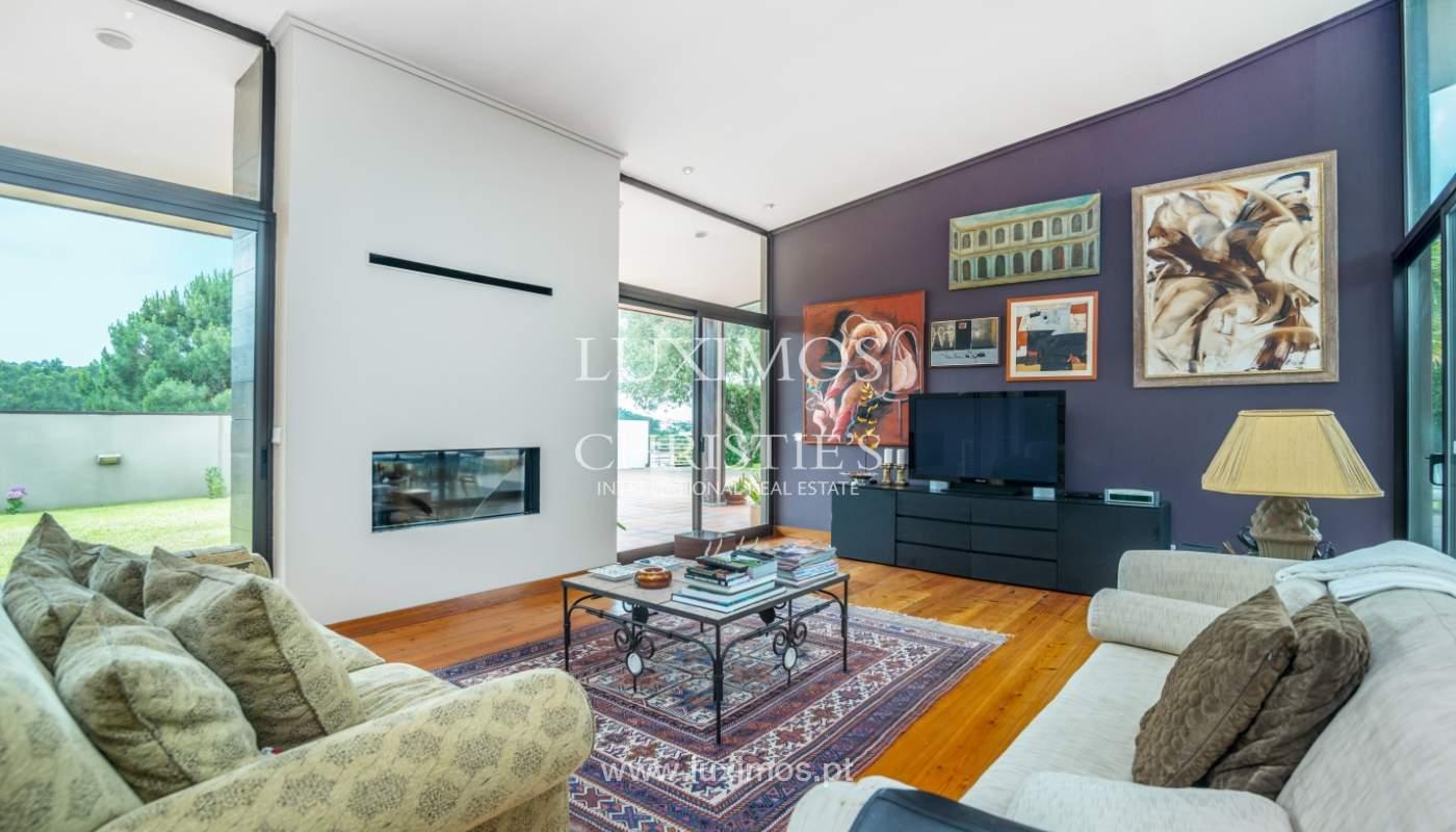 Luxury villa for sale with pool, terrace and garden, Paços de Ferreira, Portugal_107305