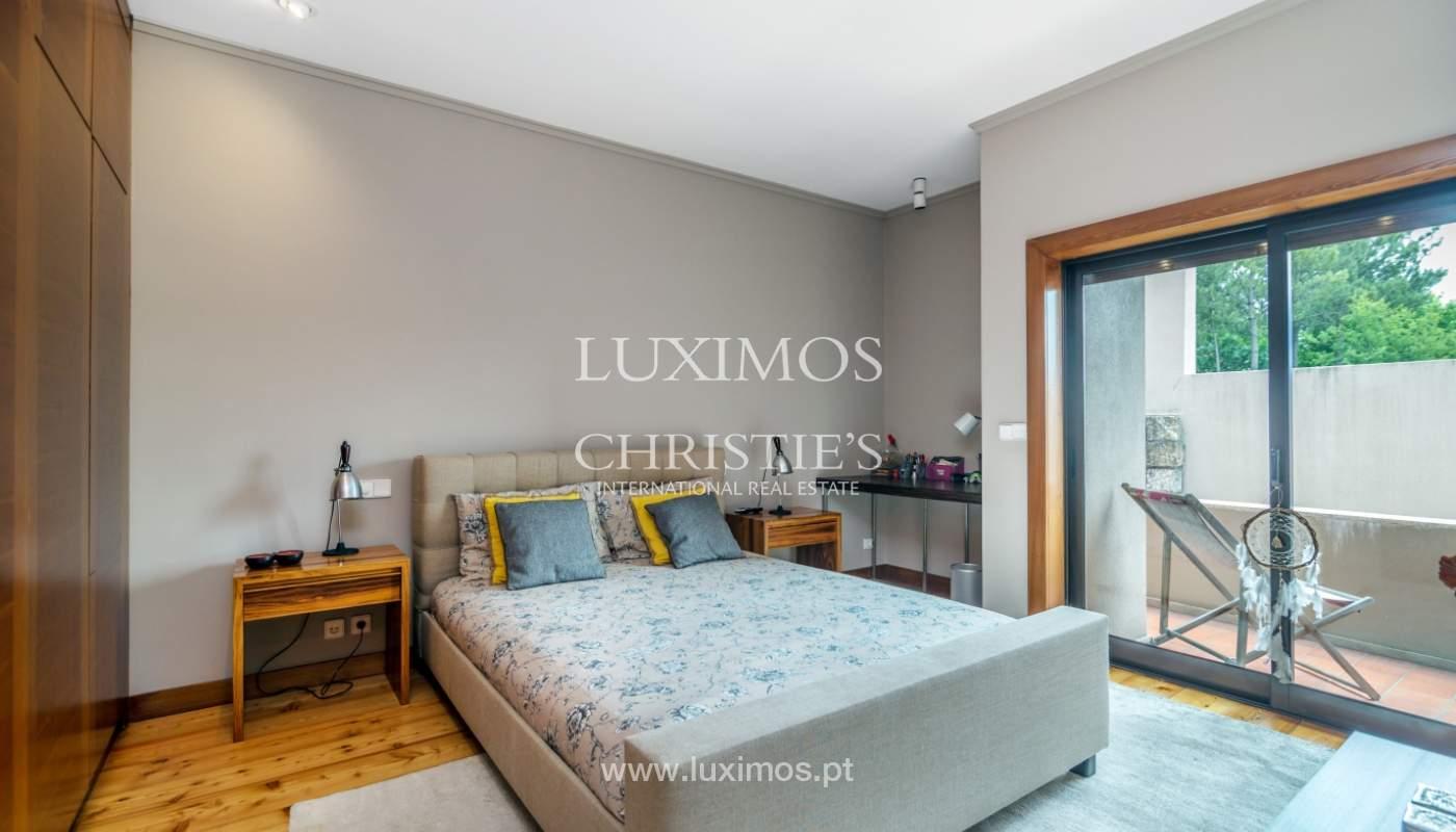 Luxury villa for sale with pool, terrace and garden, Paços de Ferreira, Portugal_107306