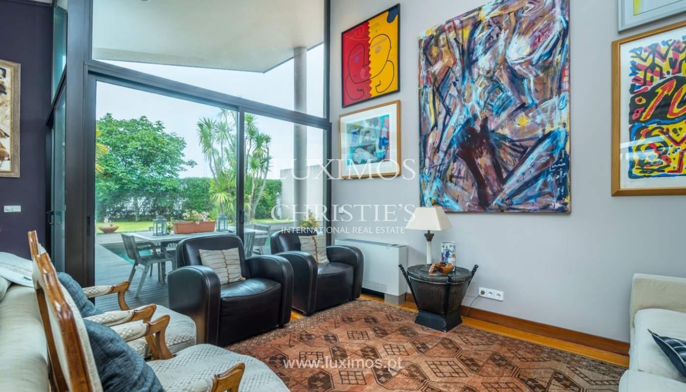 Luxury villa for sale with pool, terrace and garden, Paços de Ferreira, Portugal_107307