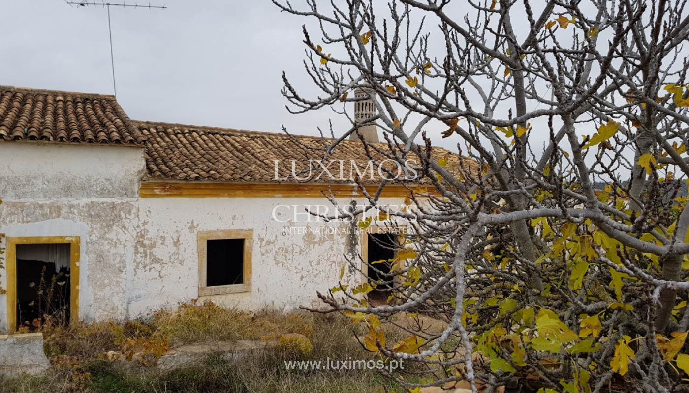 Terrain et ruine à vendre à Vale Judeu, Loulé, Algarve, Portugal_107685