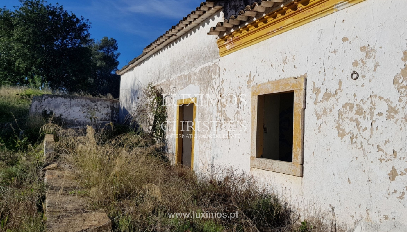 Terrain et ruine à vendre à Vale Judeu, Loulé, Algarve, Portugal_107688