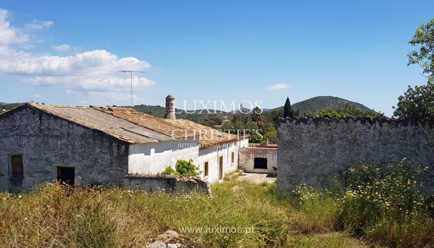 Terrain et ruine à vendre à Vale Judeu, Loulé, Algarve, Portugal_107692