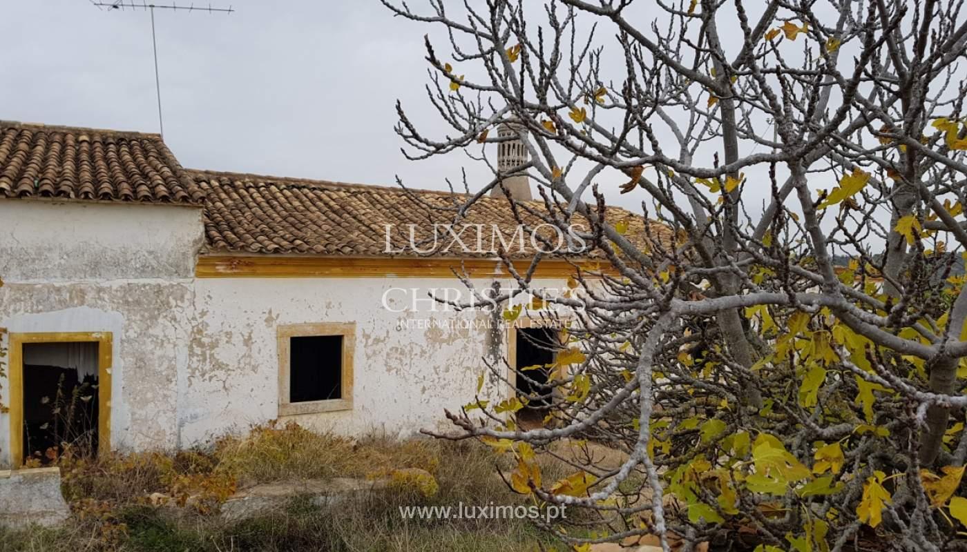Terrain et ruine à vendre à Vale Judeu, Loulé, Algarve, Portugal_107695