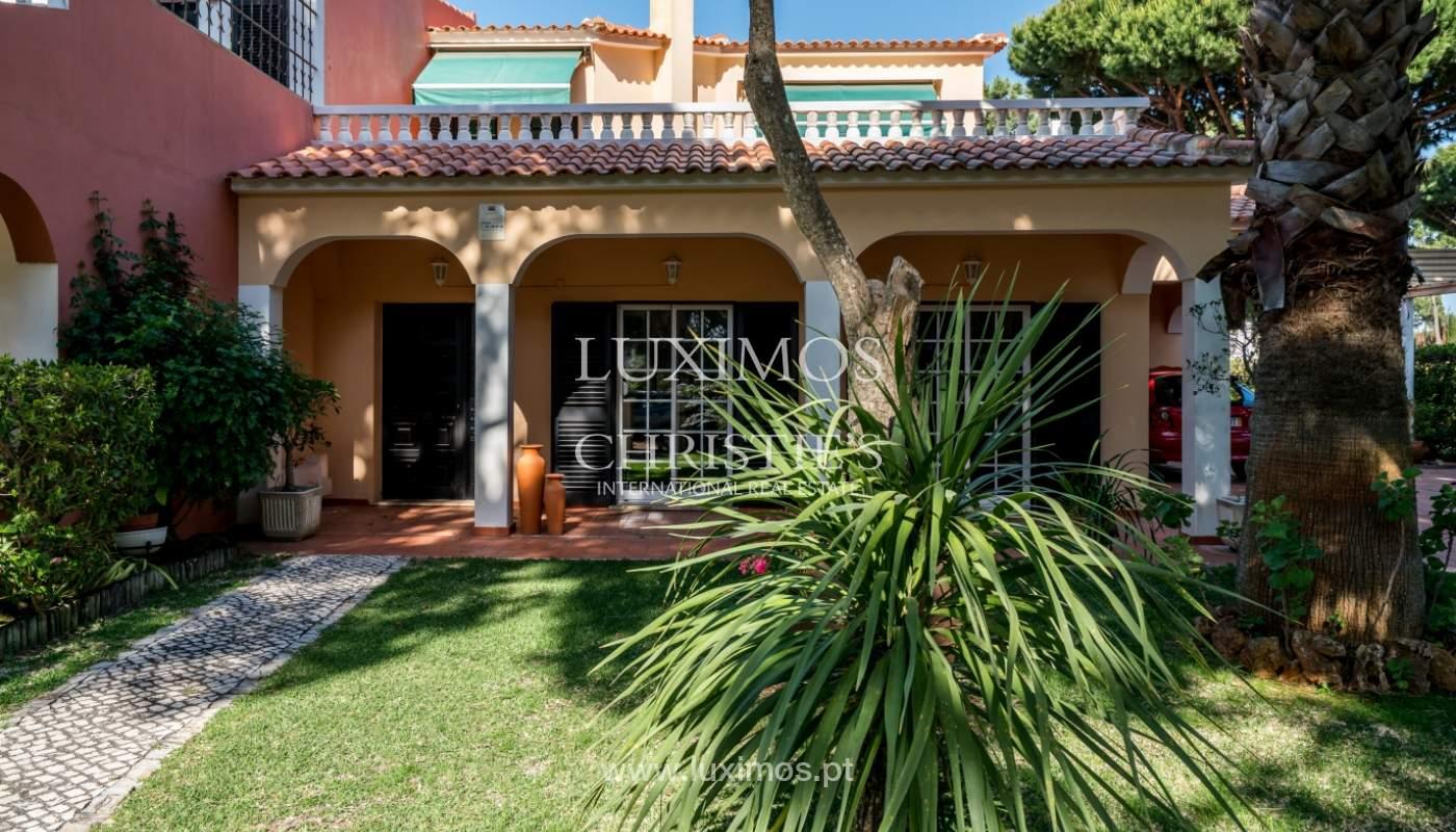Sale of villa by golf course in Vilamoura, Algarve, Portugal_108535