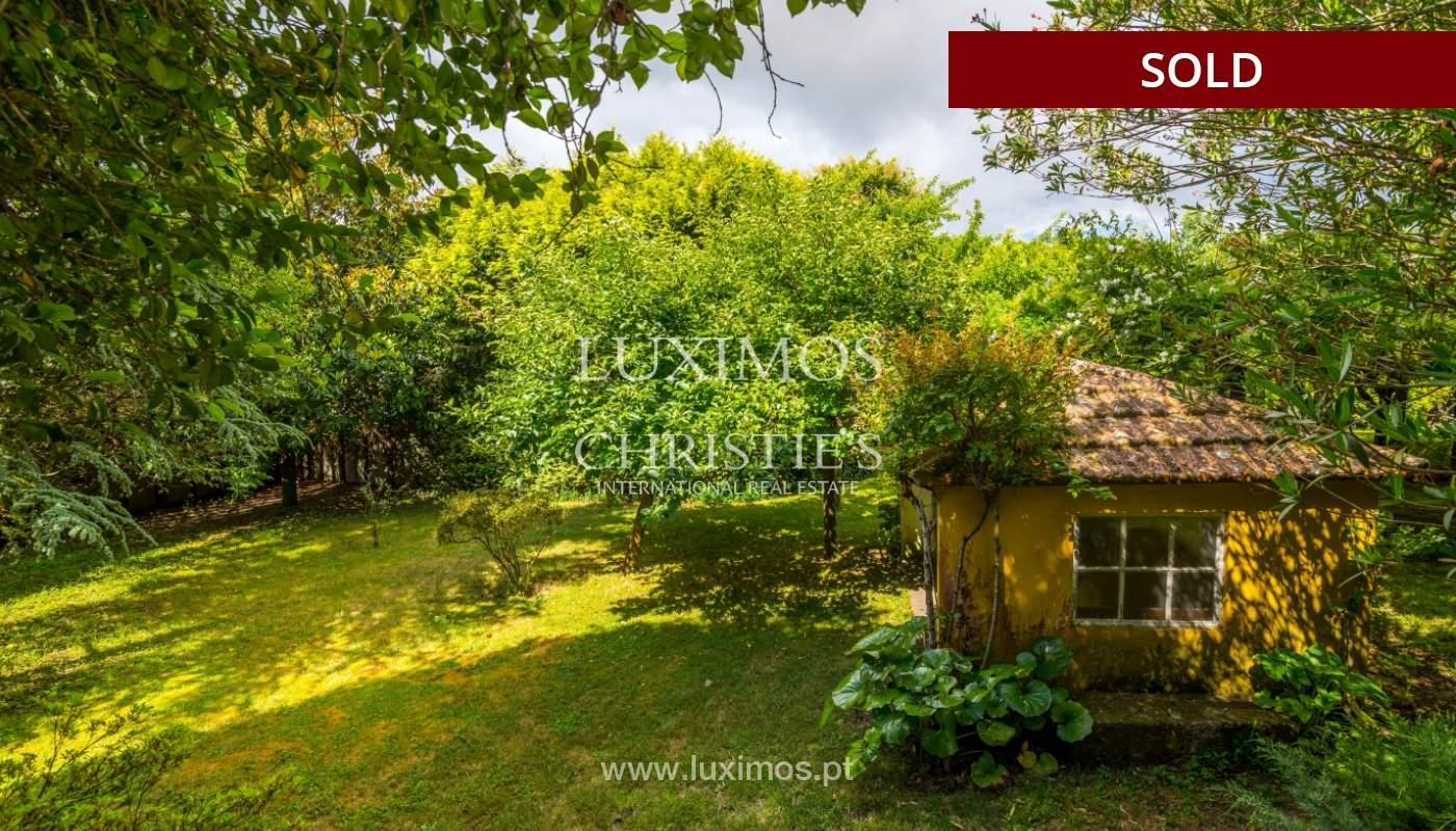 Venda de casa de campo com amplo jardim e terraço, Paços de Ferreira_108623