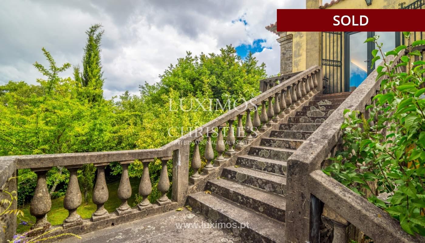 Venda de casa de campo com amplo jardim e terraço, Paços de Ferreira_108632