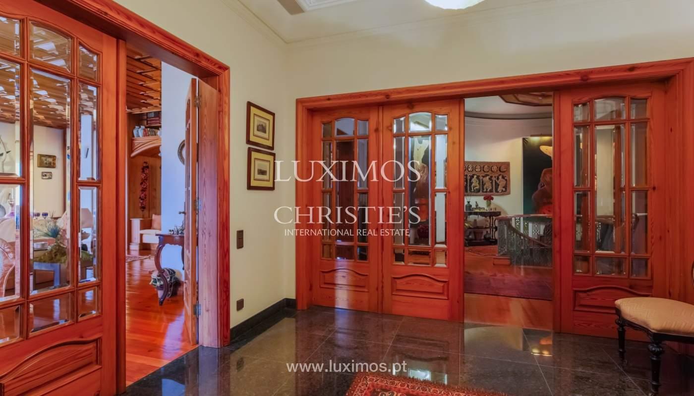 Sale of luxury villa with wide plot, Vila do Conde, Portugal_109014