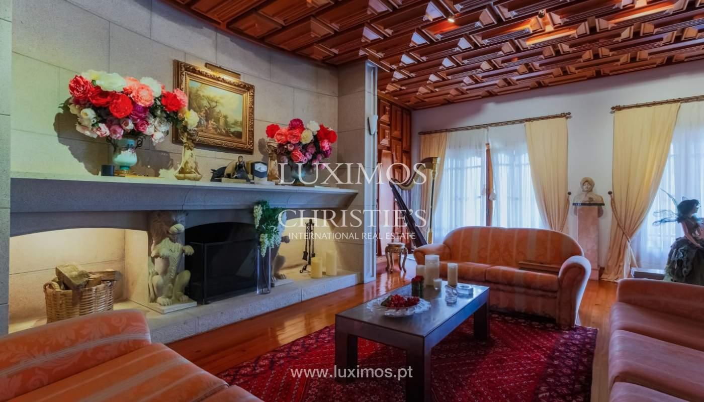 Sale of luxury villa with wide plot, Vila do Conde, Portugal_109015