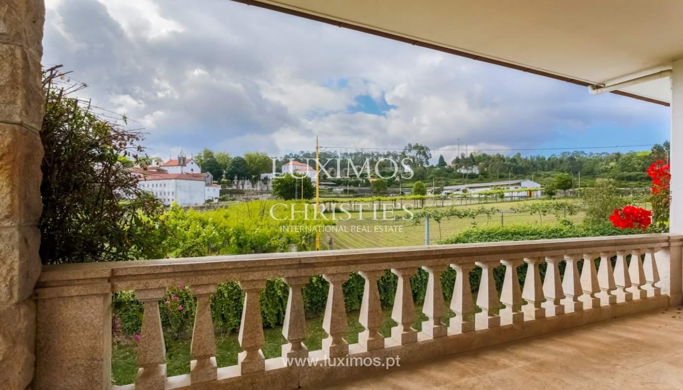 Sale of luxury villa with wide plot, Vila do Conde, Portugal_109016
