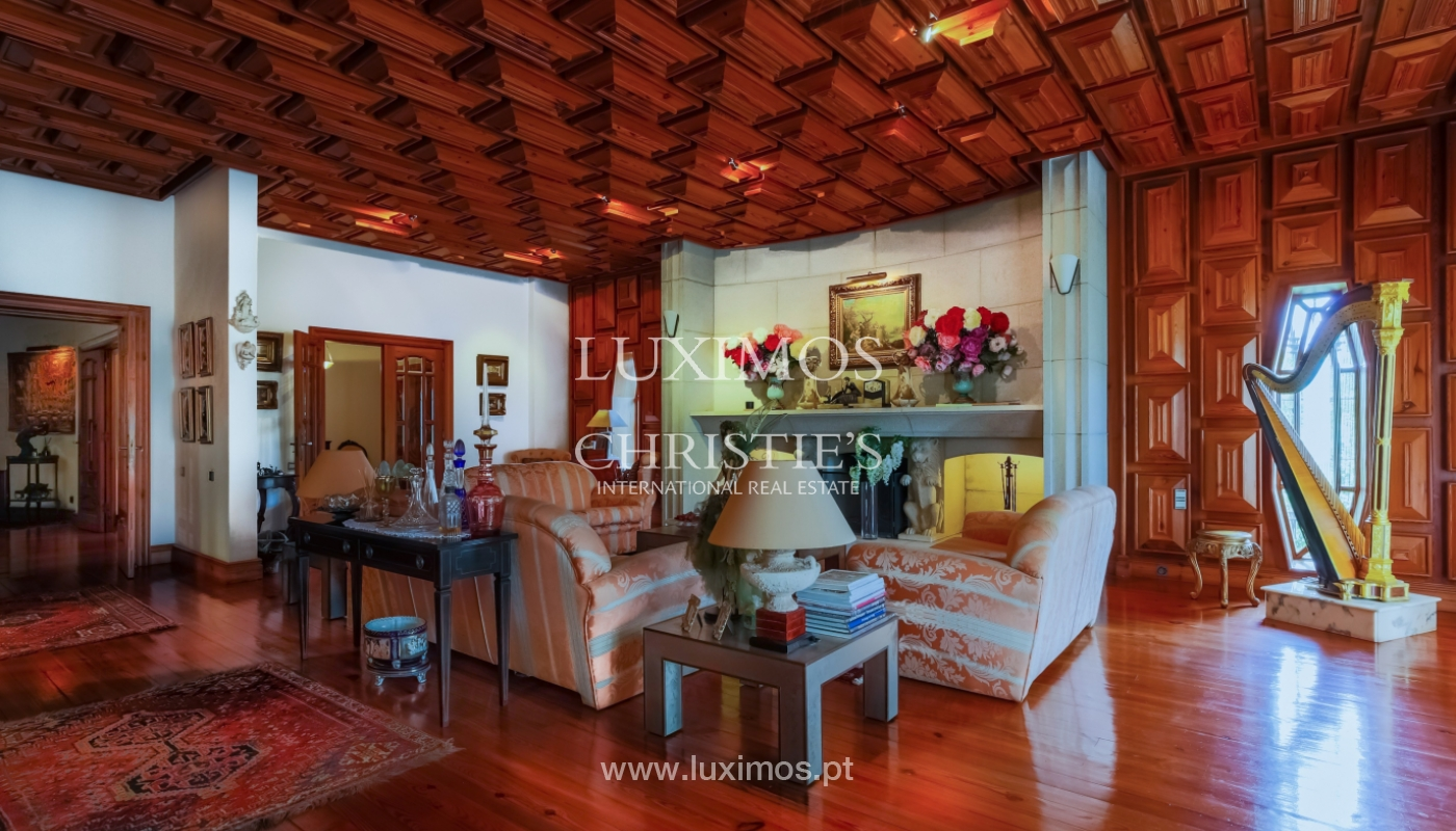 Sale of luxury villa with wide plot, Vila do Conde, Portugal_109017