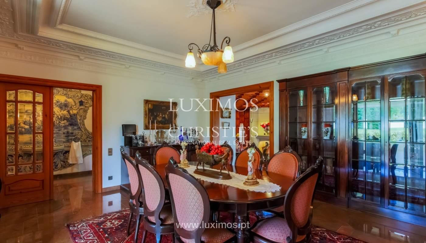 Sale of luxury villa with wide plot, Vila do Conde, Portugal_109018
