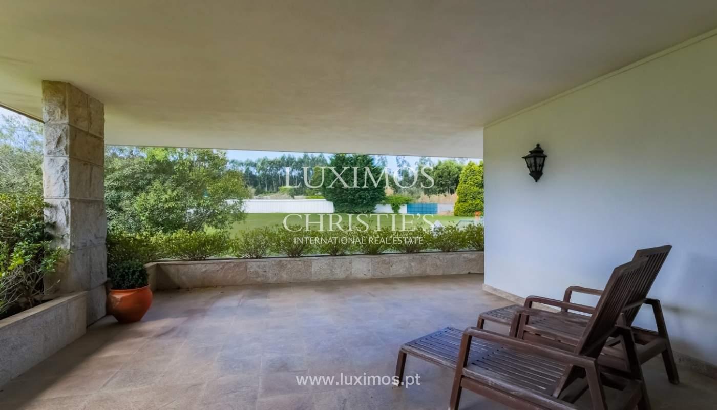 Sale of luxury villa with wide plot, Vila do Conde, Portugal_109019