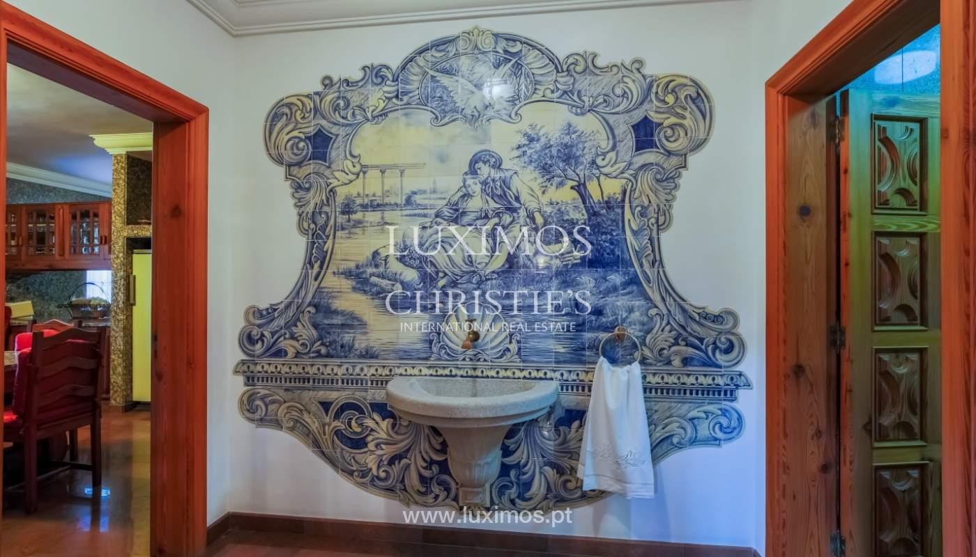 Sale of luxury villa with wide plot, Vila do Conde, Portugal_109021