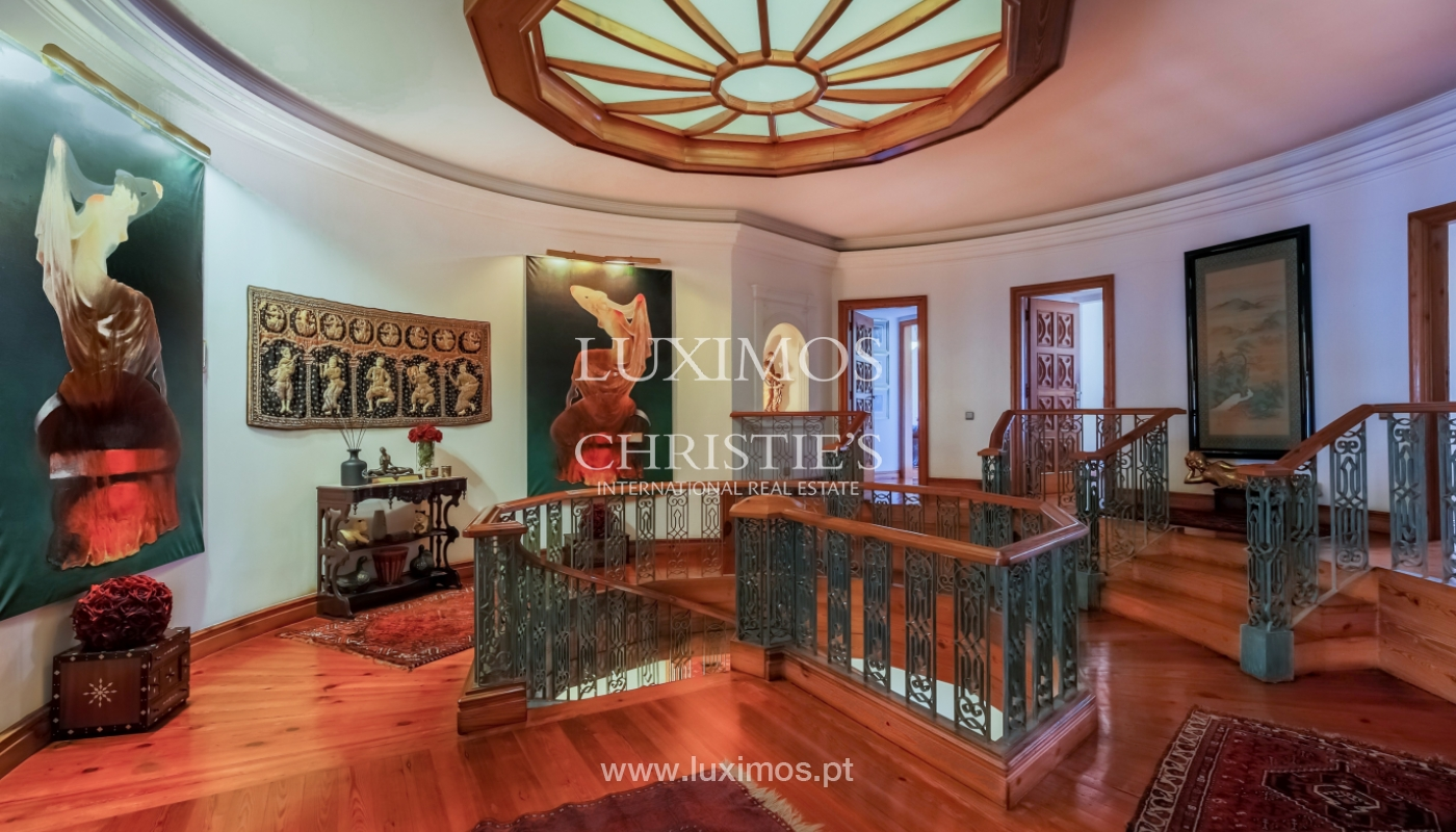 Sale of luxury villa with wide plot, Vila do Conde, Portugal_109024