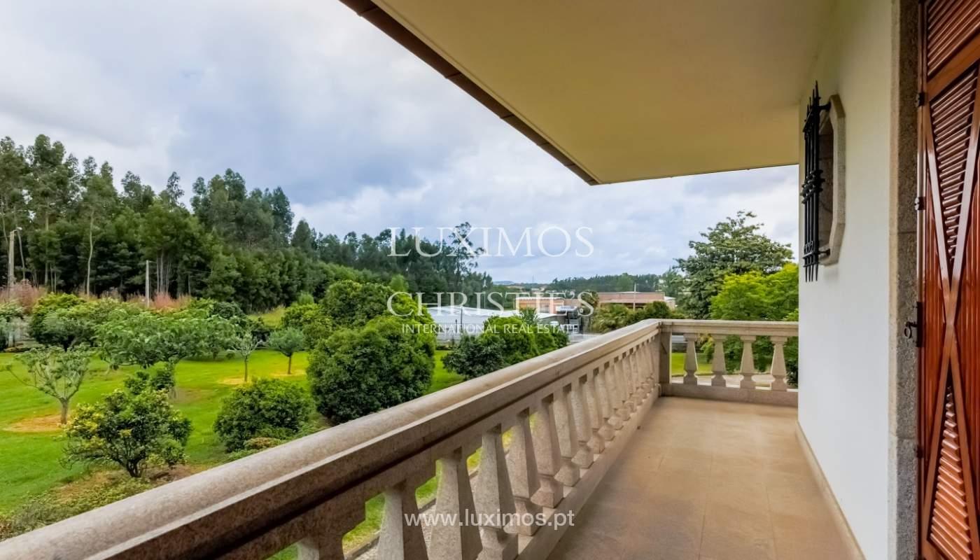 Sale of luxury villa with wide plot, Vila do Conde, Portugal_109027