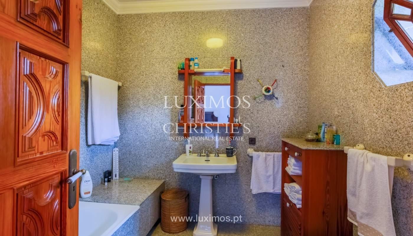 Sale of luxury villa with wide plot, Vila do Conde, Portugal_109029