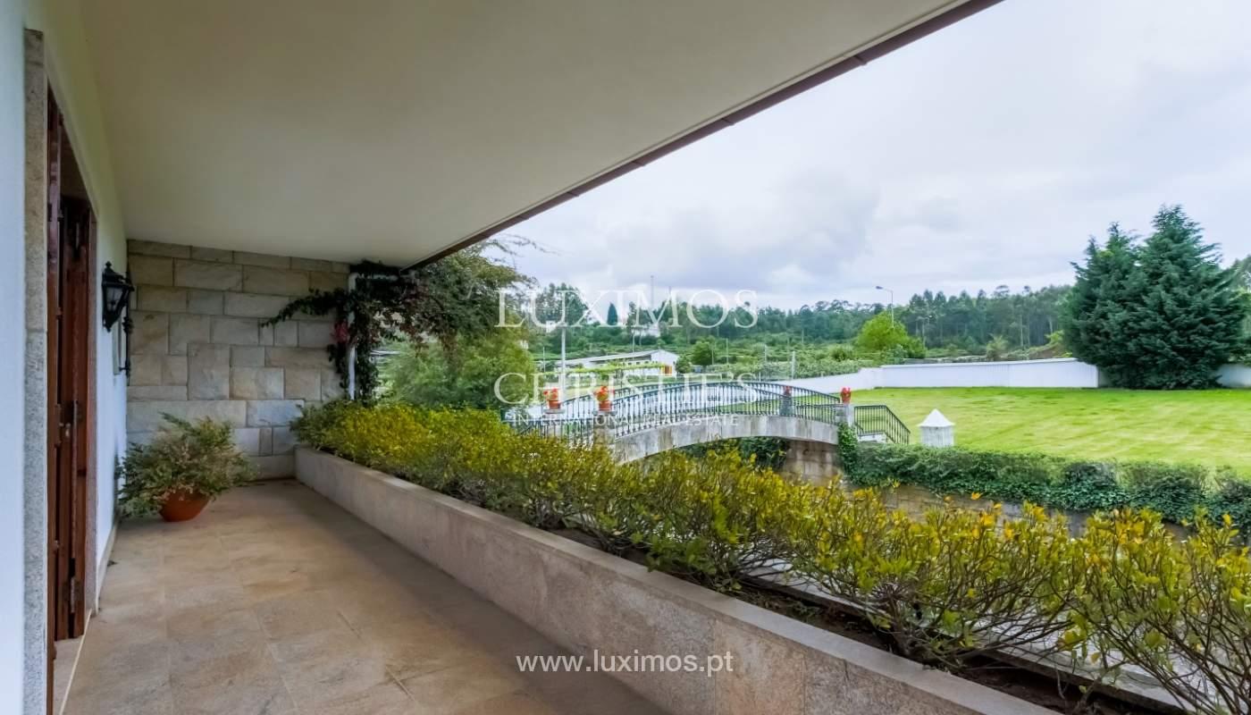 Sale of luxury villa with wide plot, Vila do Conde, Portugal_109030