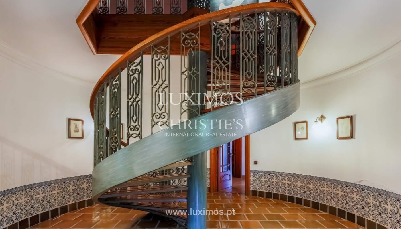Sale of luxury villa with wide plot, Vila do Conde, Portugal_109037