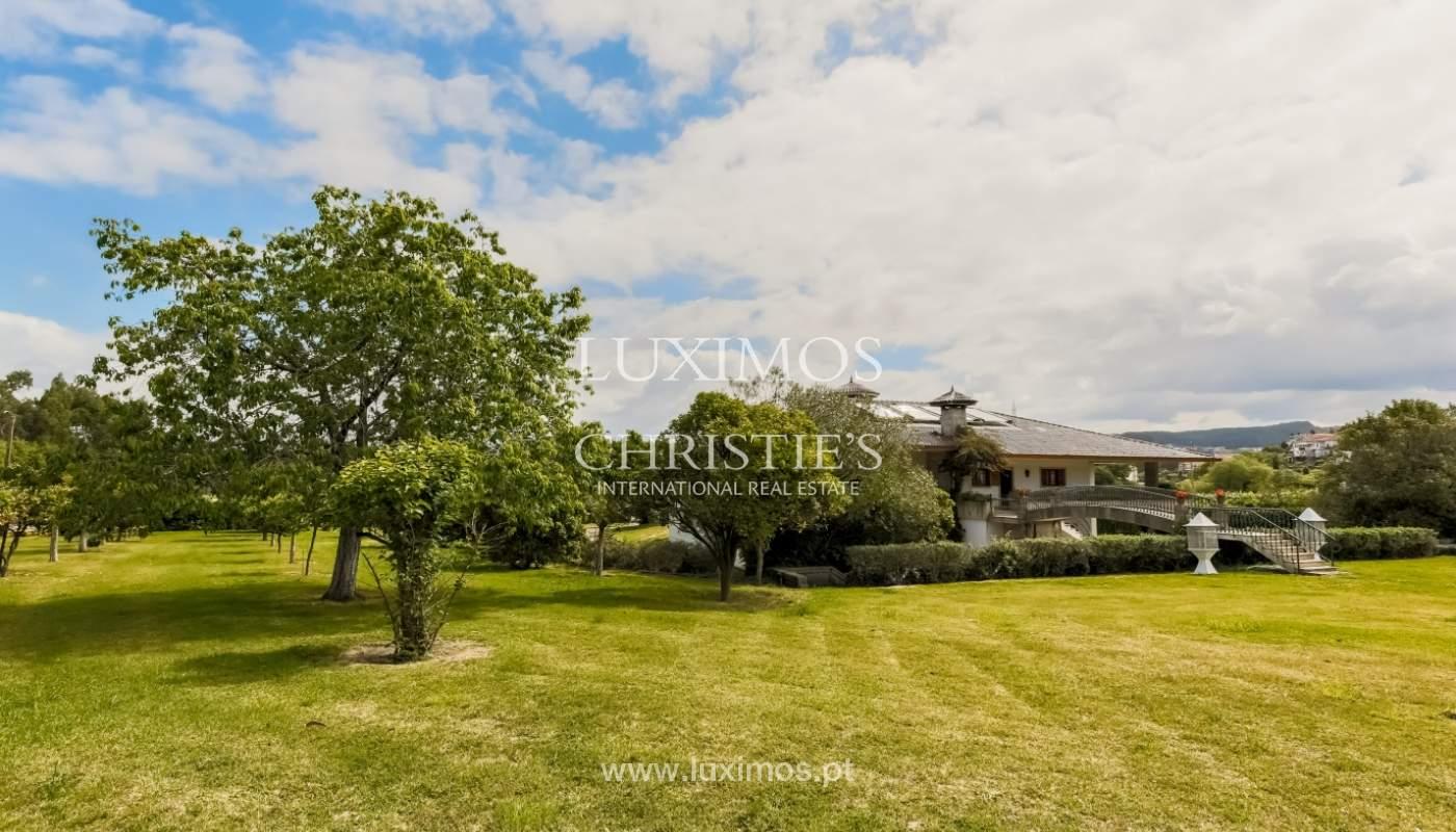 Sale of luxury villa with wide plot, Vila do Conde, Portugal_109039