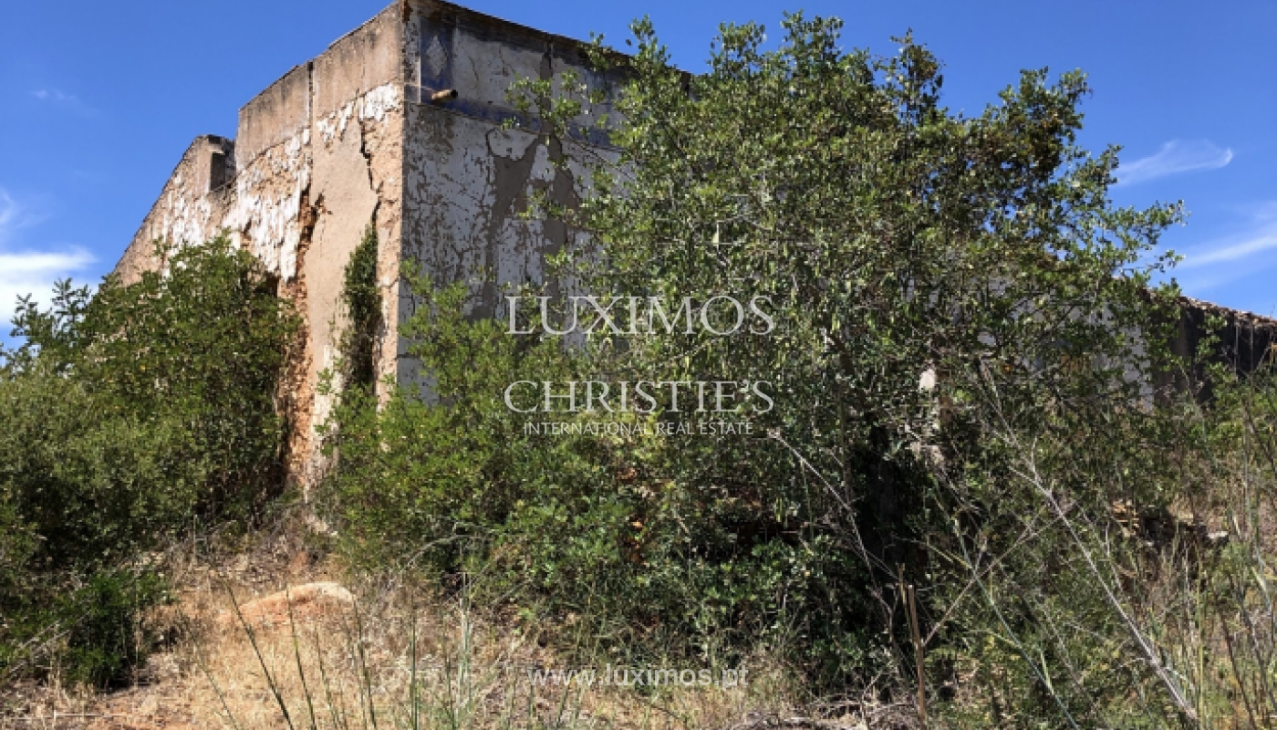 Sale of land with ruin, approved project in Olhão, Algarve, Portugal_109965
