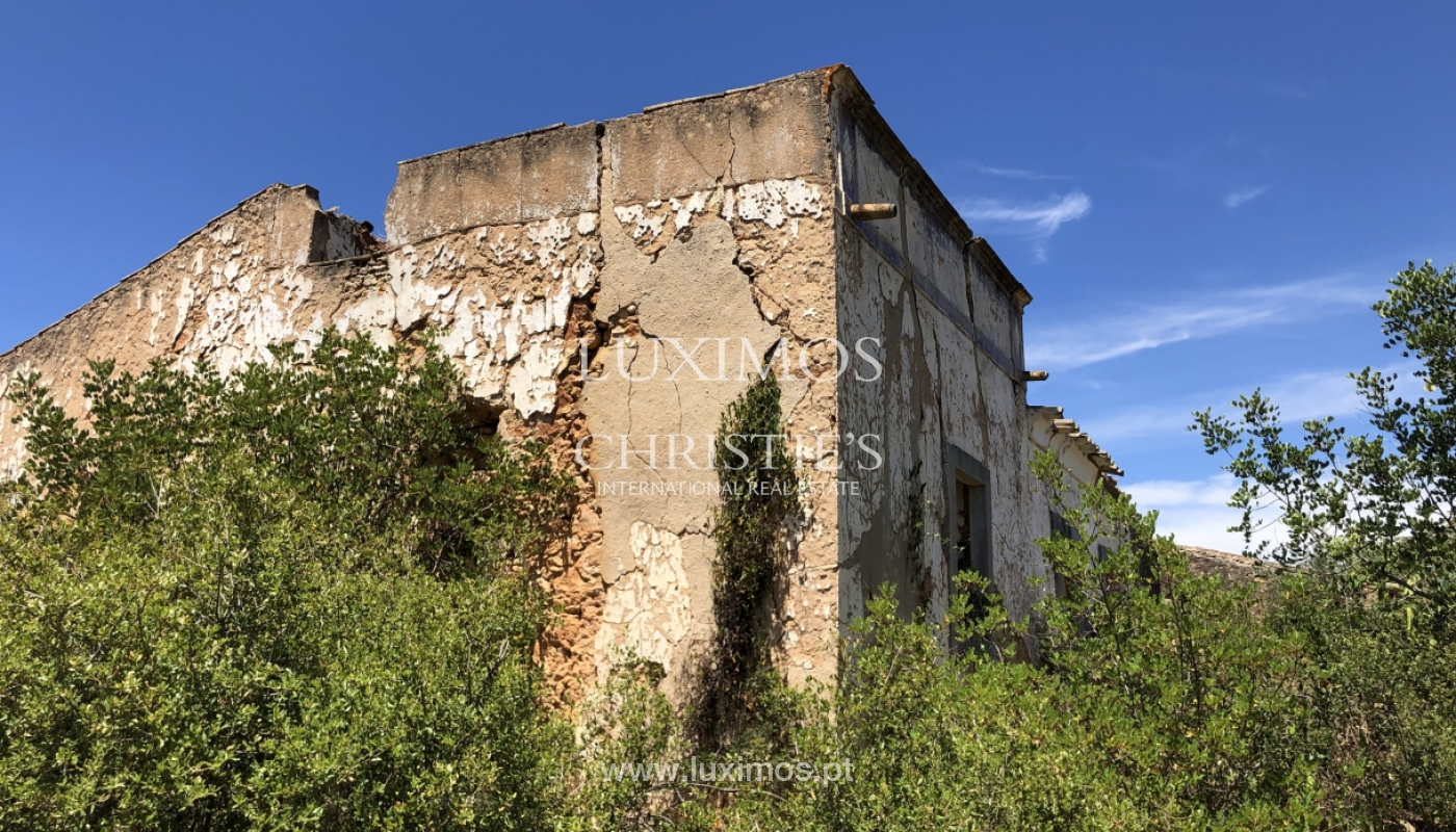 Sale of land with ruin, approved project in Olhão, Algarve, Portugal_109968