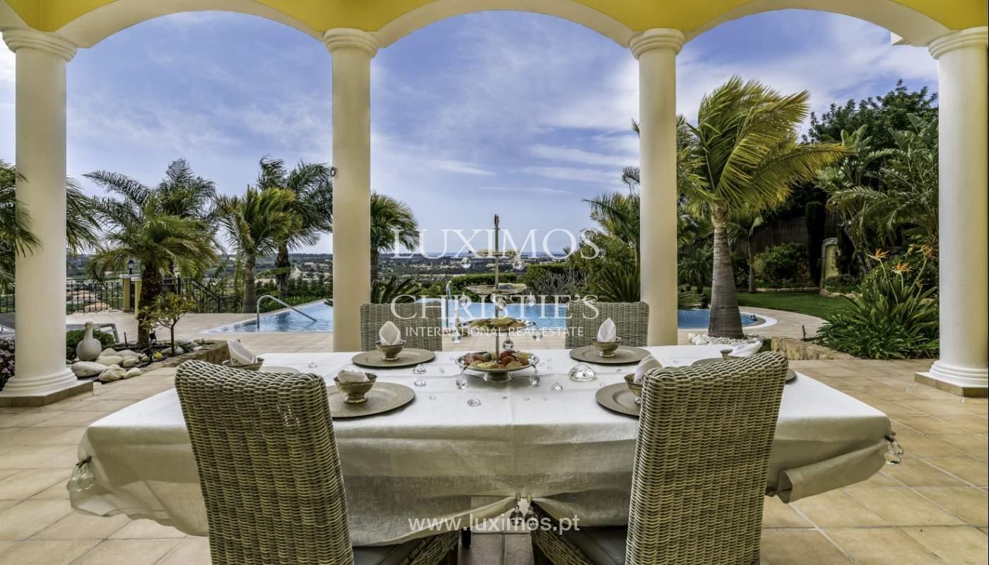 Sale of luxury villa with pool near Vilamoura, Algarve, Portugal_110012