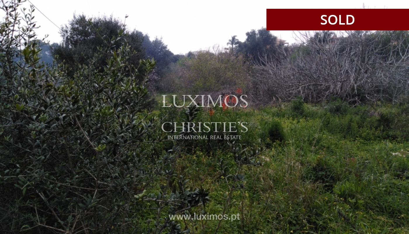 Sale of land with sea view in Lagos, Algarve, Portugal_110337
