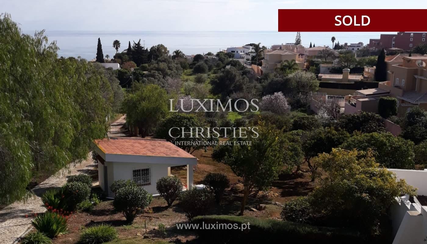 Verkauf von Grundstück mit Meerblick in Lagos, Algarve, Portugal_110339