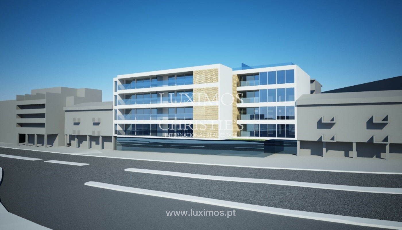 Sale of land with project of a building in Lagos, Algarve, Portugal_110360