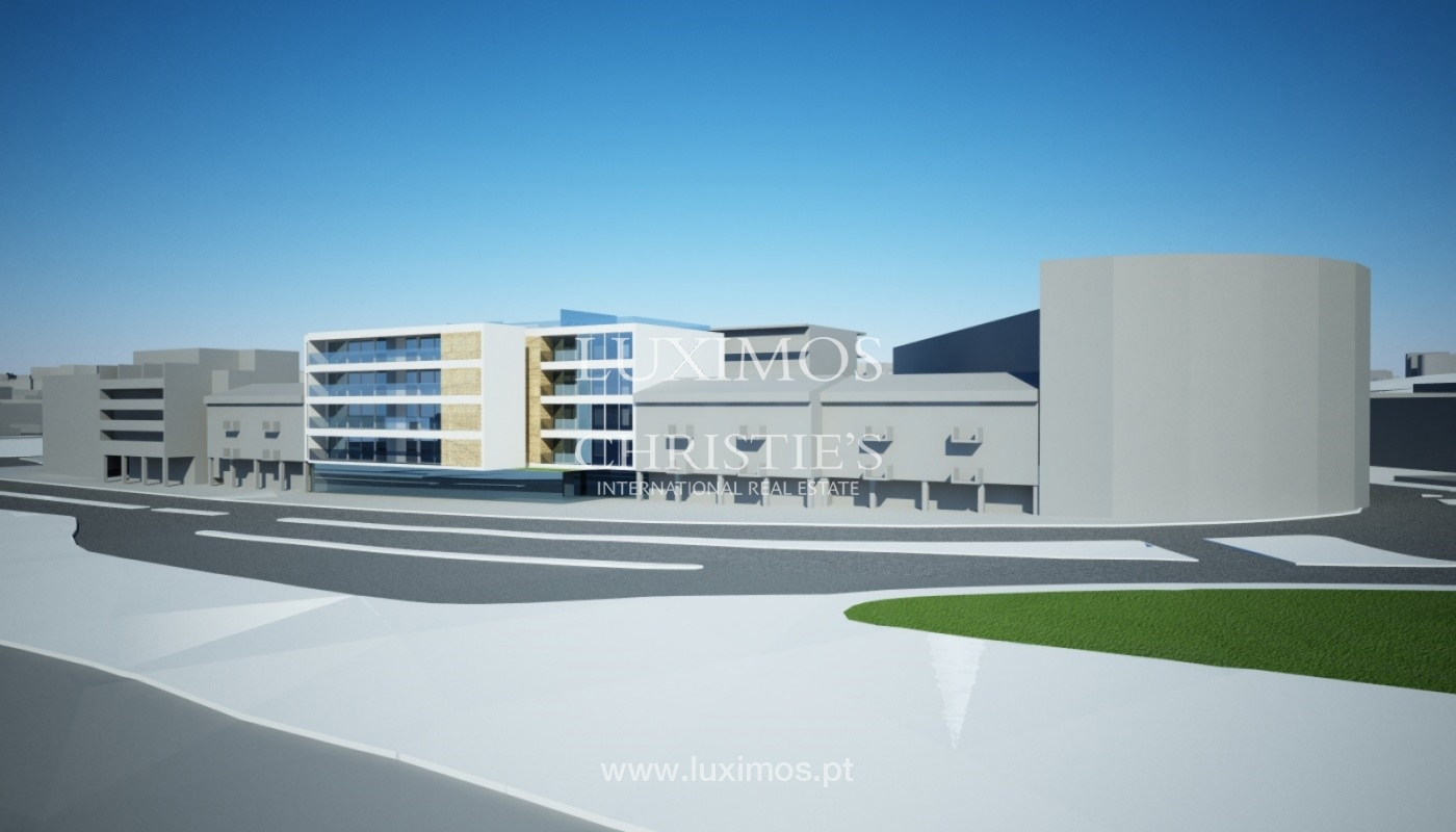 Sale of land with project of a building in Lagos, Algarve, Portugal_110366