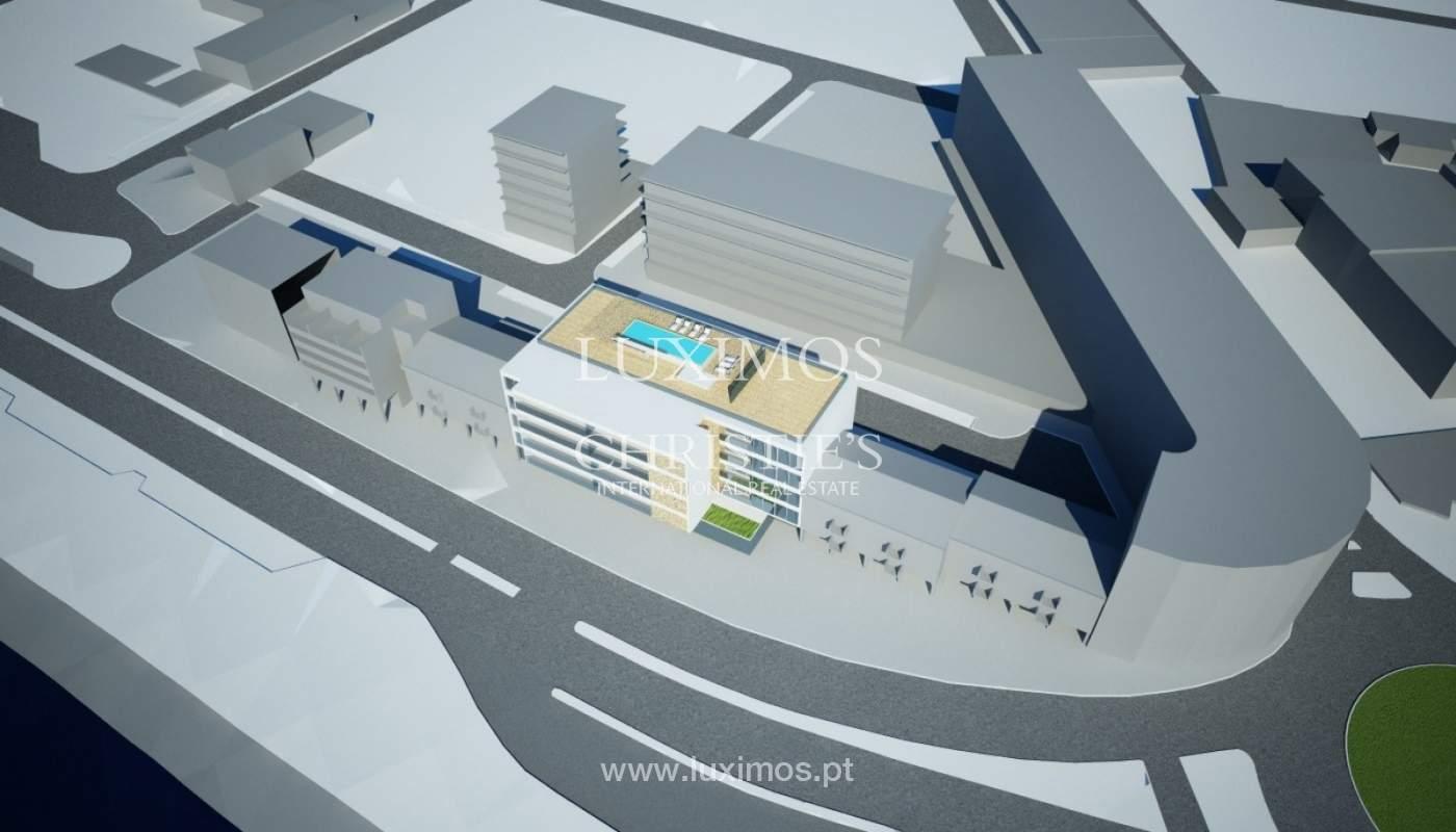 Venda de terreno com projecto de prédio em Lagos, Algarve_110374