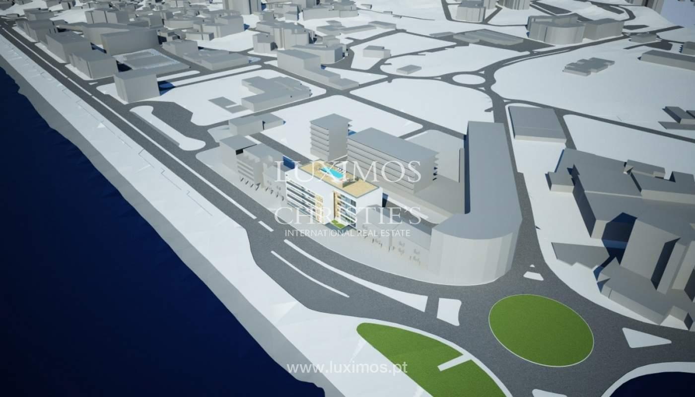 Venda de terreno com projecto de prédio em Lagos, Algarve_110376
