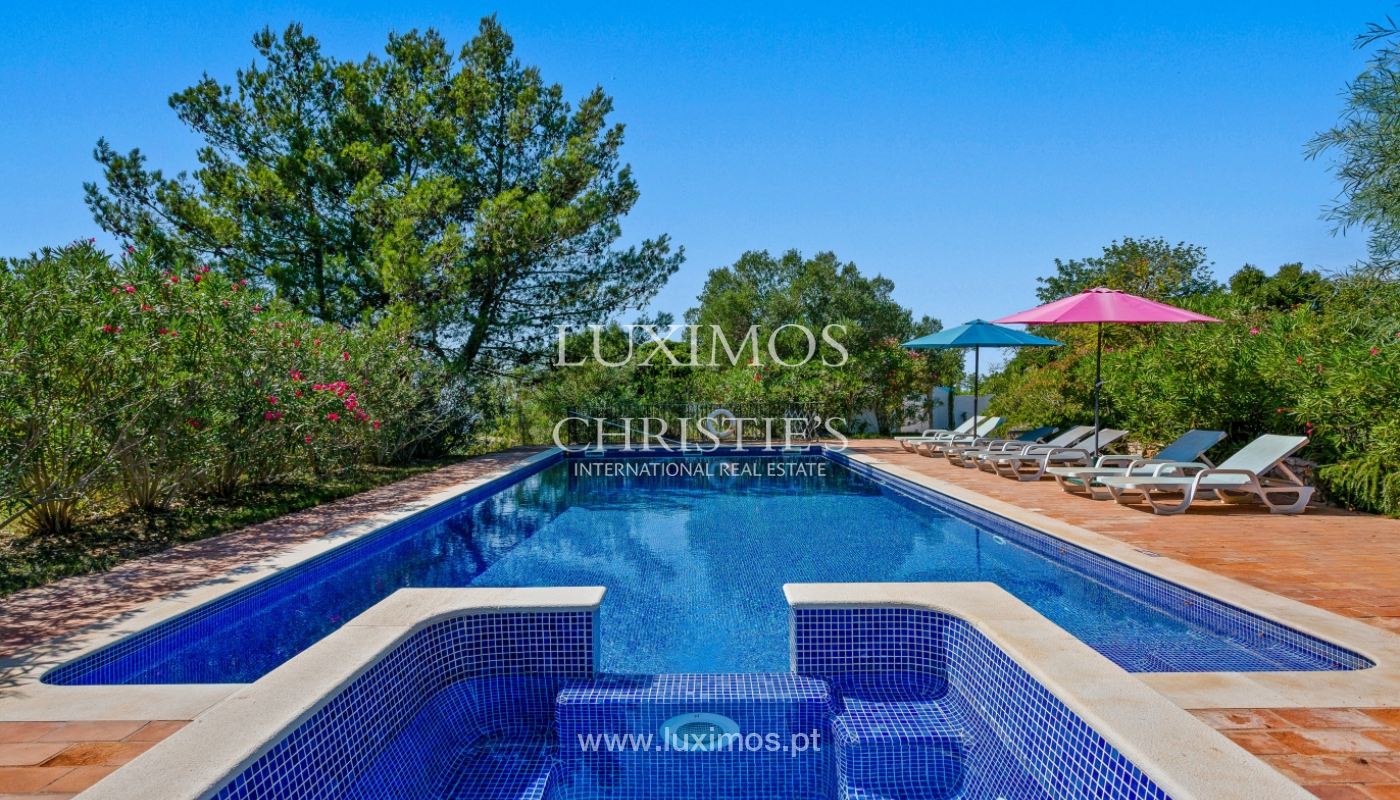 Sale of villa with pool and sea view near Silves, Algarve, Portugal_110409