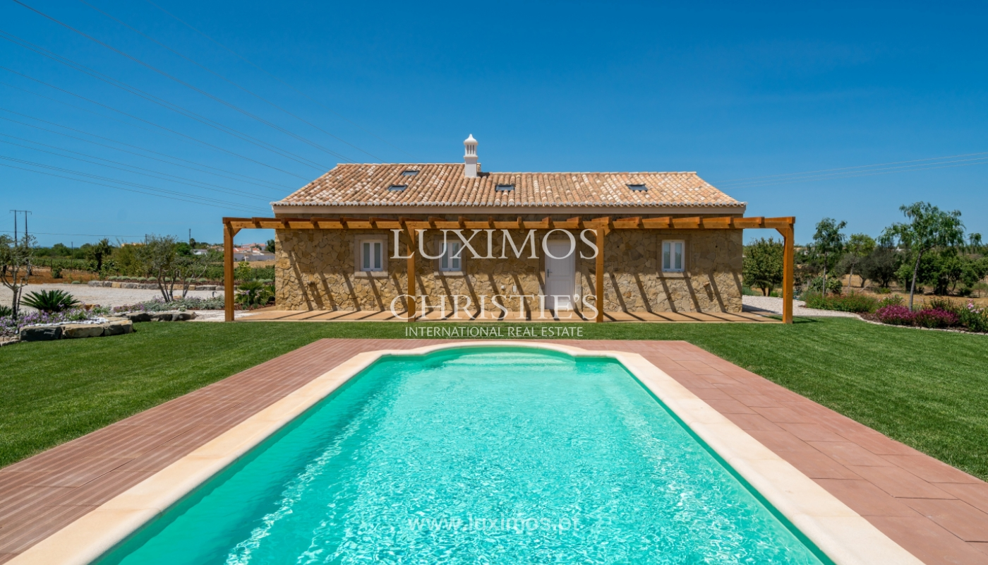 Venda de moradia nova com piscina em Albufeira, Algarve, Portugal_110528