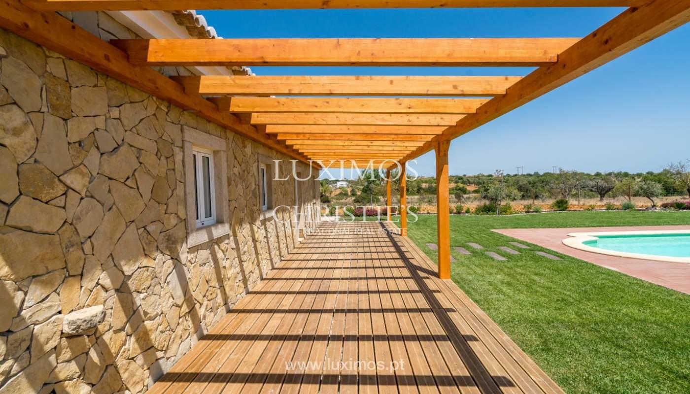Venda de moradia nova com piscina em Albufeira, Algarve, Portugal_110534