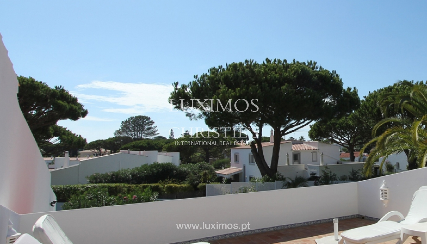 Sale of villa with pool in Vale do Lobo, Algarve, Portugal_110862
