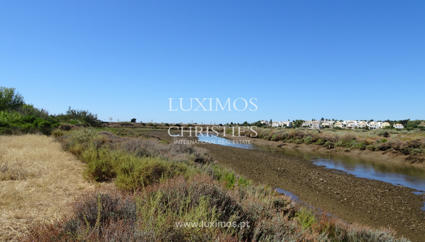 Sale of plot of land with sea view in Tavira, Algarve, Portugal_111199