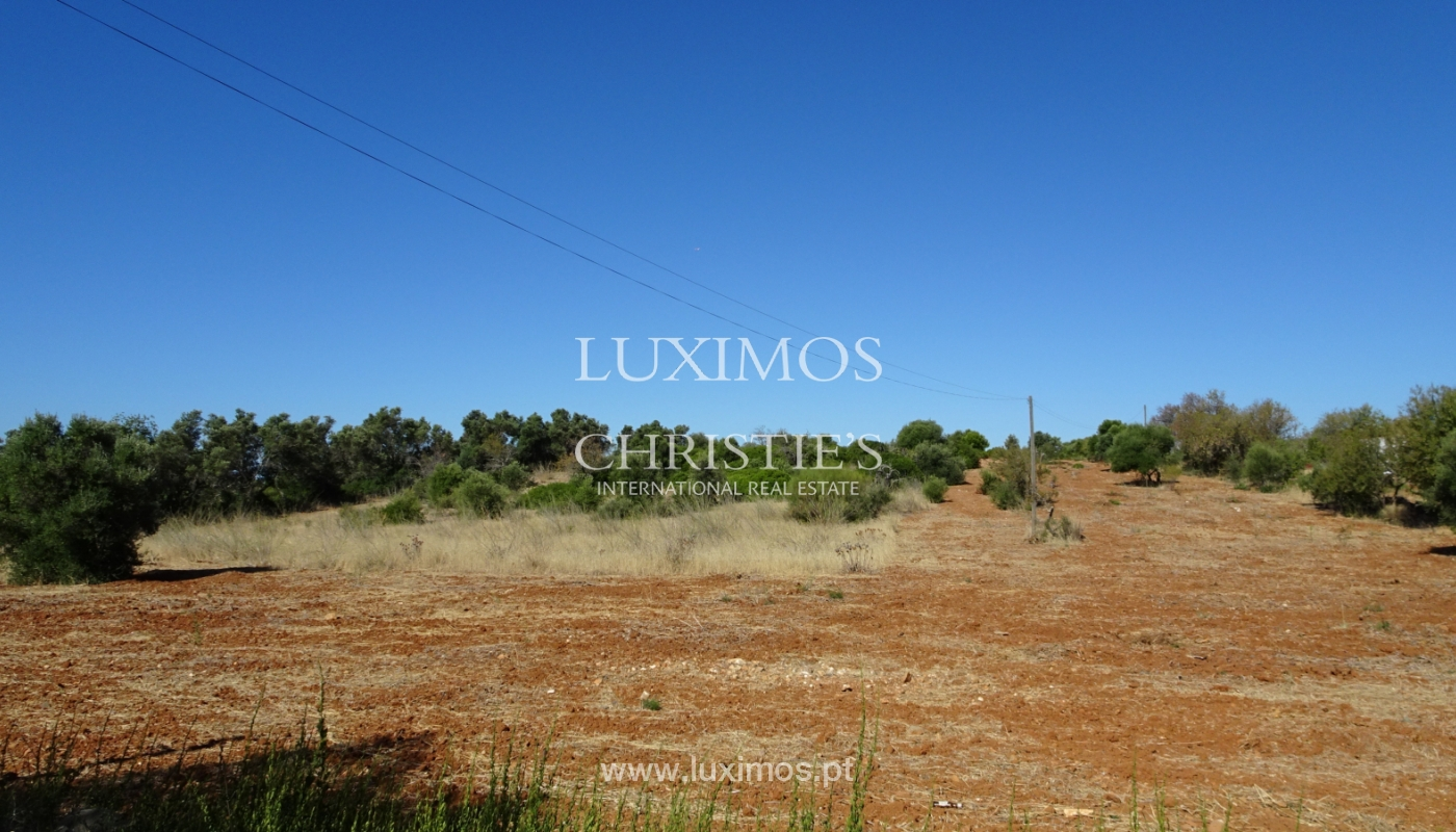 Sale of plot of land with sea view in Tavira, Algarve, Portugal_111208