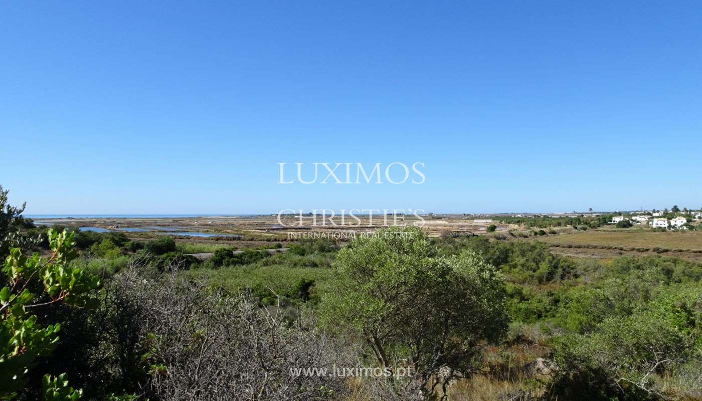 Sale of plot of land with sea view in Tavira, Algarve, Portugal_111210