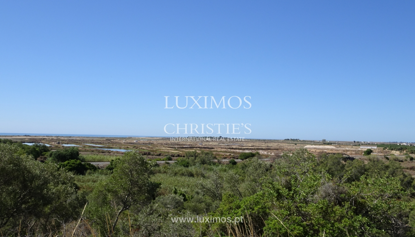 Sale of plot of land with sea view in Tavira, Algarve, Portugal_111212
