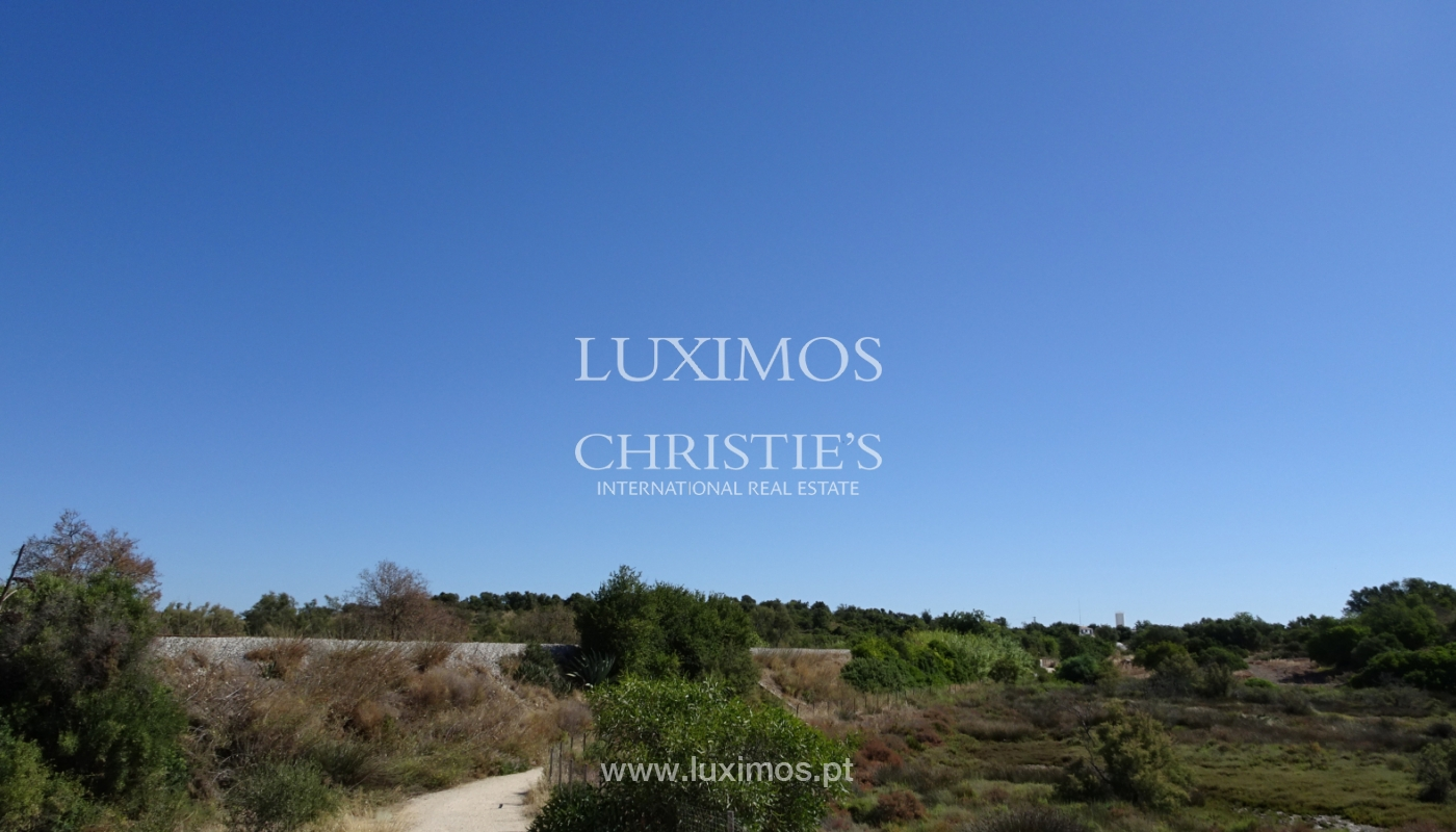 Sale of plot of land with sea view in Tavira, Algarve, Portugal_111214