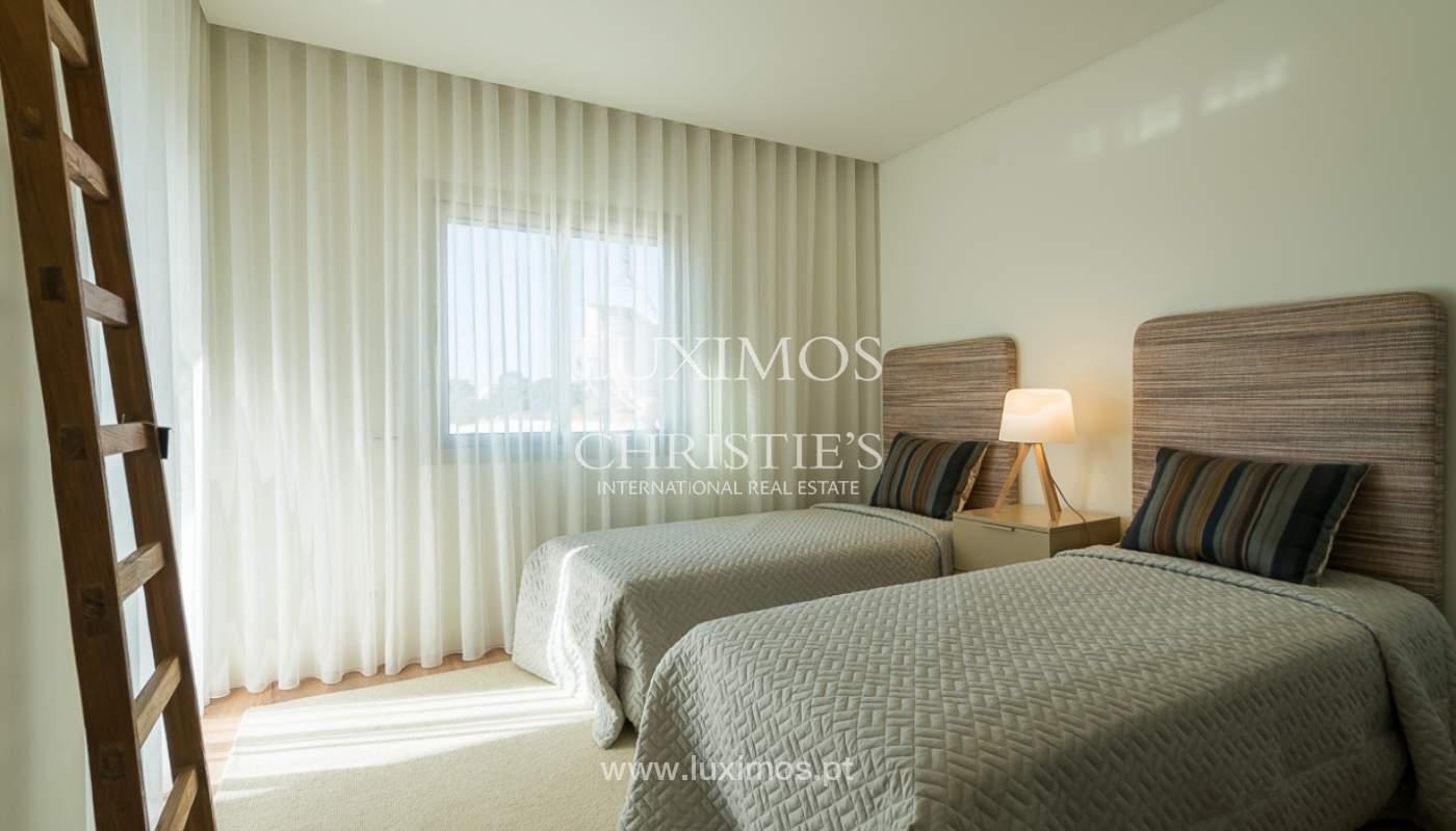 Apartamento novo para venda com vista mar em Quarteira, Algarve_111368