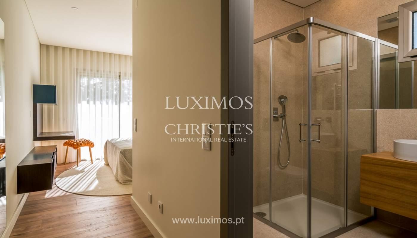 Apartamento novo para venda com vista mar em Quarteira, Algarve_111371