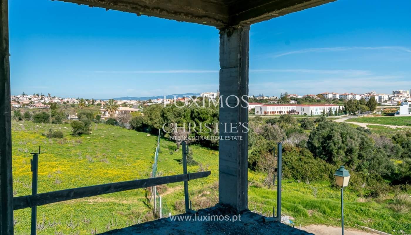 Vivienda moderna en construcción con vistas al mar, en Lagos, Algarve, Portugal_111624