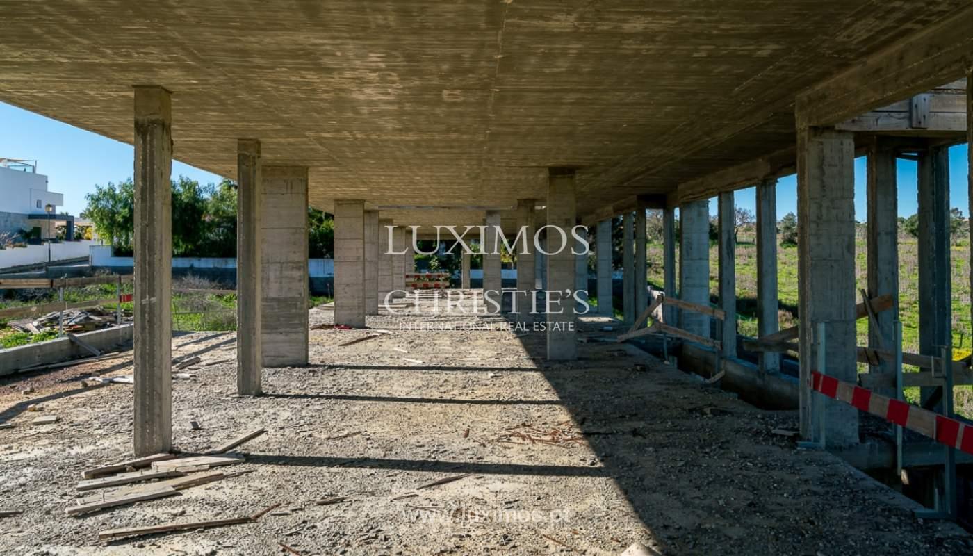 Vivienda moderna en construcción con vistas al mar, en Lagos, Algarve, Portugal_111627
