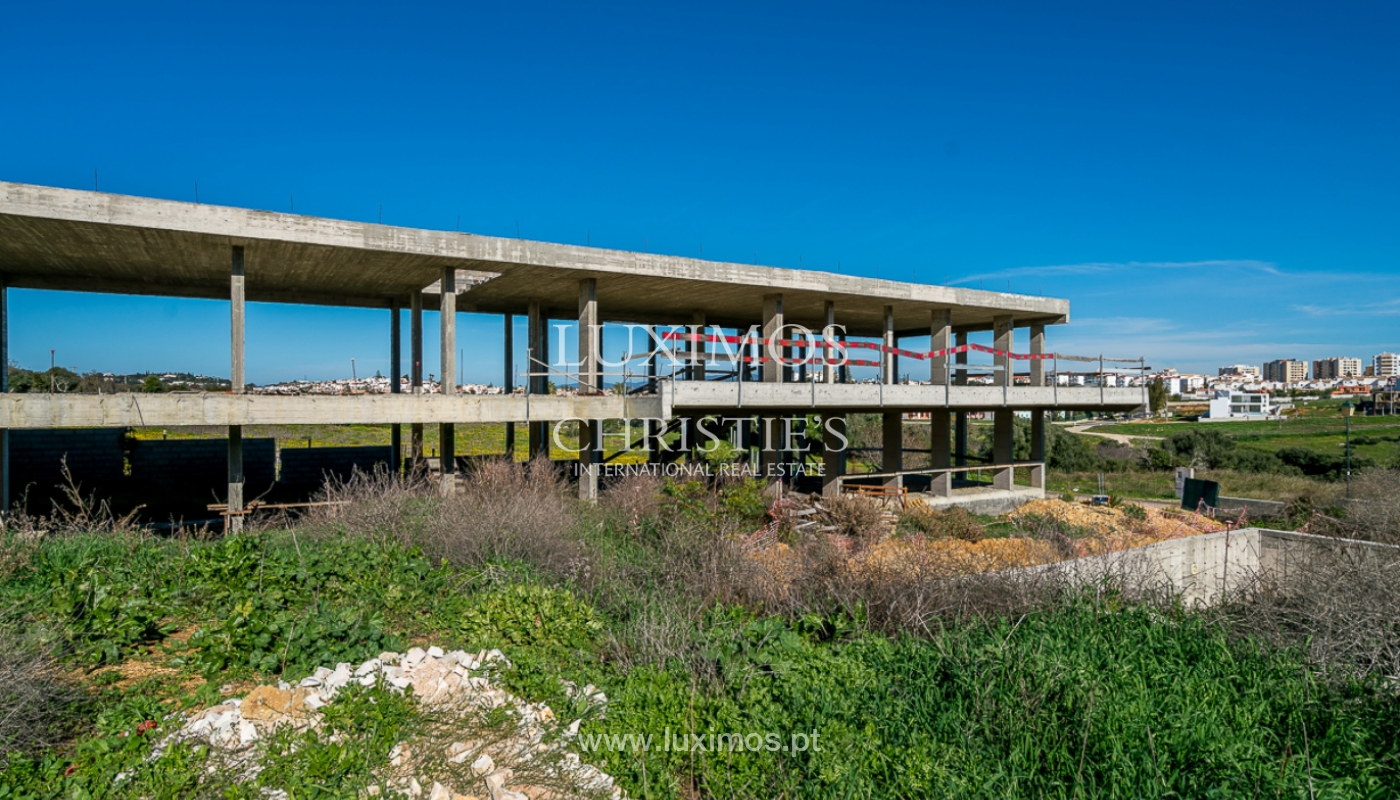 Vivienda moderna en construcción con vistas al mar, en Lagos, Algarve, Portugal_111629