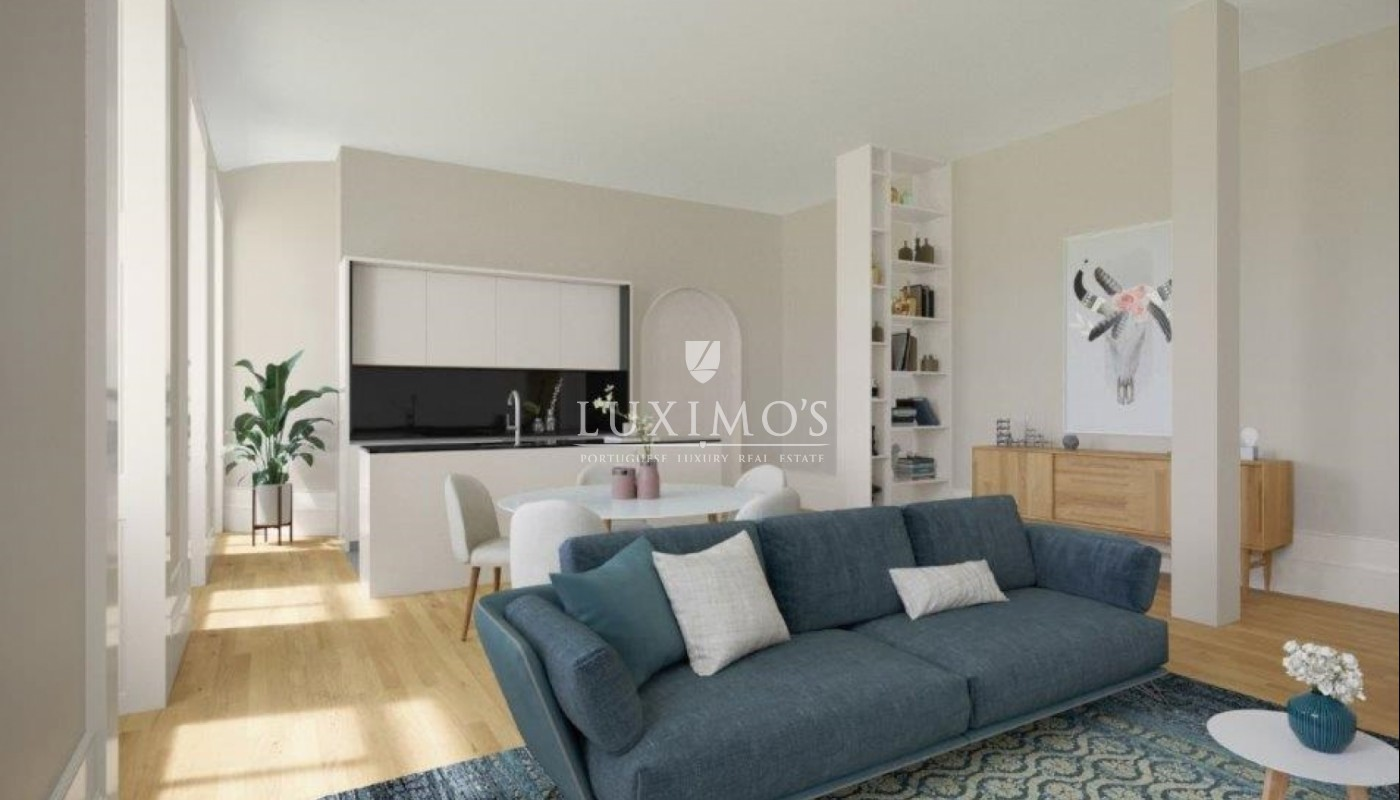 Sale of apartment in a new development in the heart of Porto, Portugal_112129